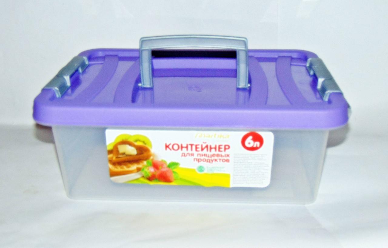 Контейнер для харчових продуктів 6л