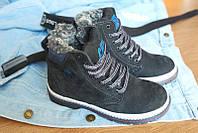 Зимние кожаные ботинки для мальчика CAT