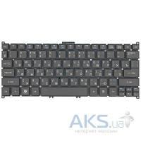 Клавиатура для ноутбука Acer Aspire S3,S5,One 756, TravelMate B1 RU, (9Z.N7WPW.00R) Gray