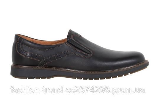 Мужские туфли комфорт  Bumer натуральная кожа, фото 1