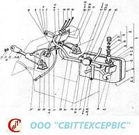 ДВ 1784, ДВ 1786, ДВ 1788, ДВ 1792 Гидравлическая система