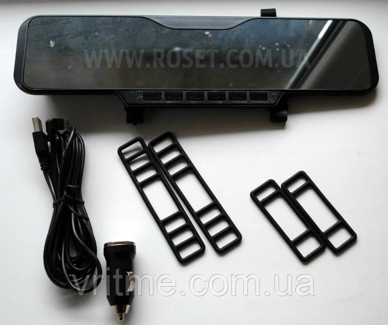 Видеорегистратор автомобильный в виде зеркала заднего вида - Car Video Recorder - CR-99