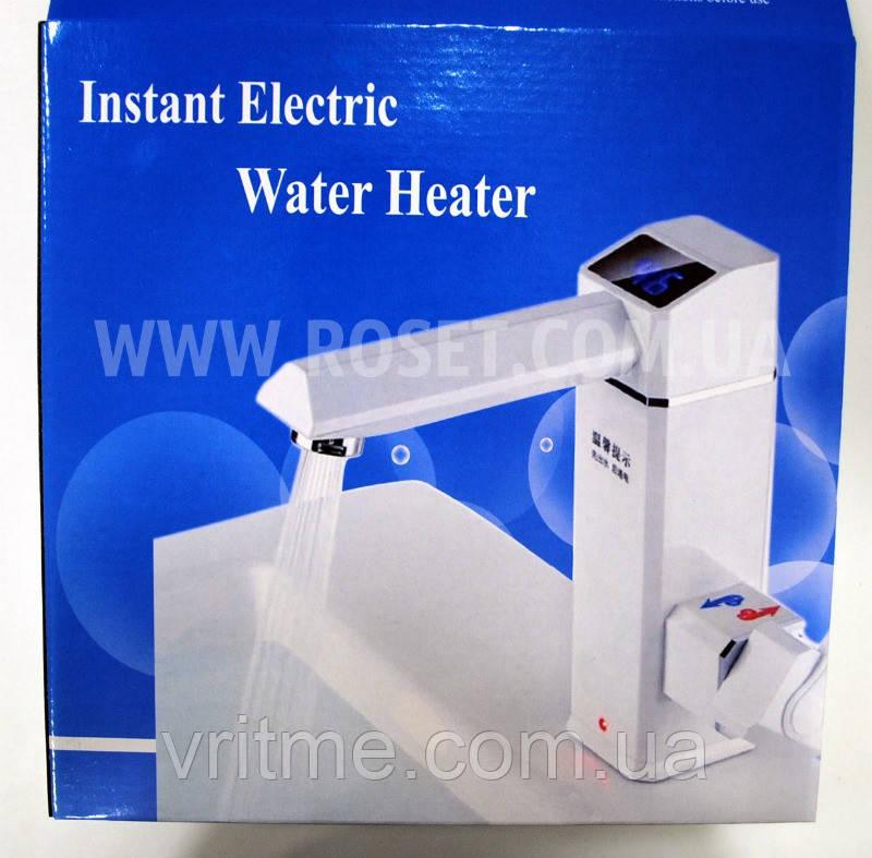 Цифровой водонагреватель (смеситель) проточный - Instant Electric Water Heater Faucet