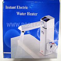 Цифровой водонагреватель (смеситель) проточный - Instant Electric Water Heater Faucet, фото 1