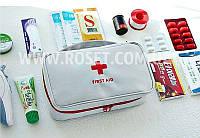 Аптечка органайзер домашняя - First Aid Pouch Large (Красная и Белая)