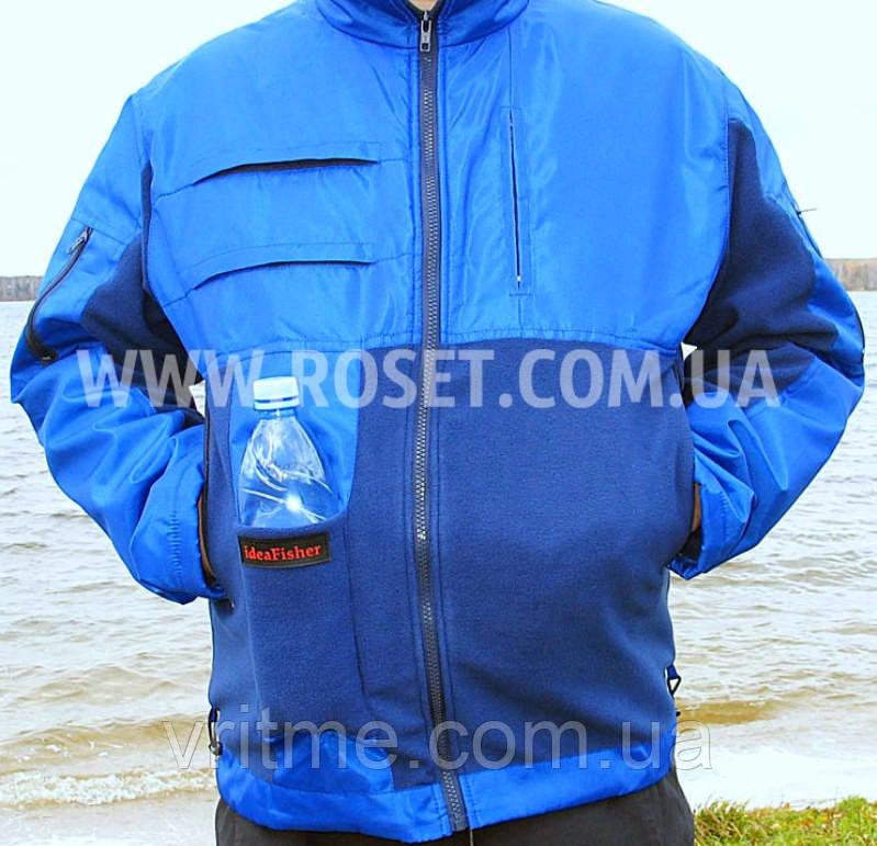 Куртка для рыбалки и путешествий - Толстовка 1.0 XL