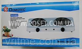 Електрична плитка спіральна - Domotec MS-5802 1000W (2 канфорки)
