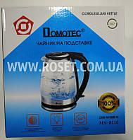 Чайник электрический Domotec MS 8110 2200W (Черный), фото 1