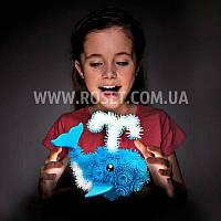Конструктор-липучка детский - Bunchems Вязкий пушистый шарик 200 шт, фото 1