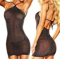 Прозрачное - Мерцающее платье, фото 1