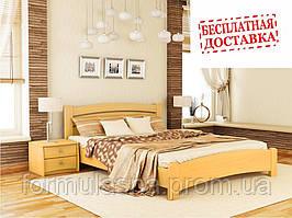 Кровать деревянная Венеция Люкс Эстелла