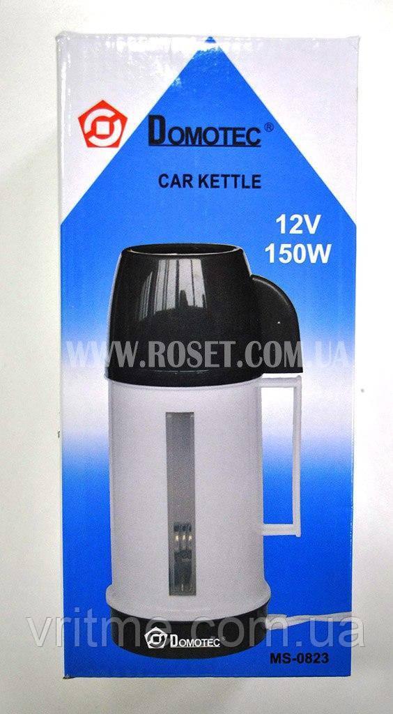 Автомобильный чайник-термос - Domotec Car Kettle MS-0823 12V 150W