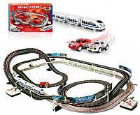 Детская железная дорога и автотрек Racing 630см
