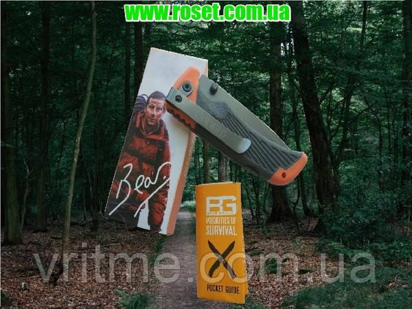 Складной нож Беар Глиллс Гербер (Bear Grylls Gerber) Foldeng Sheath