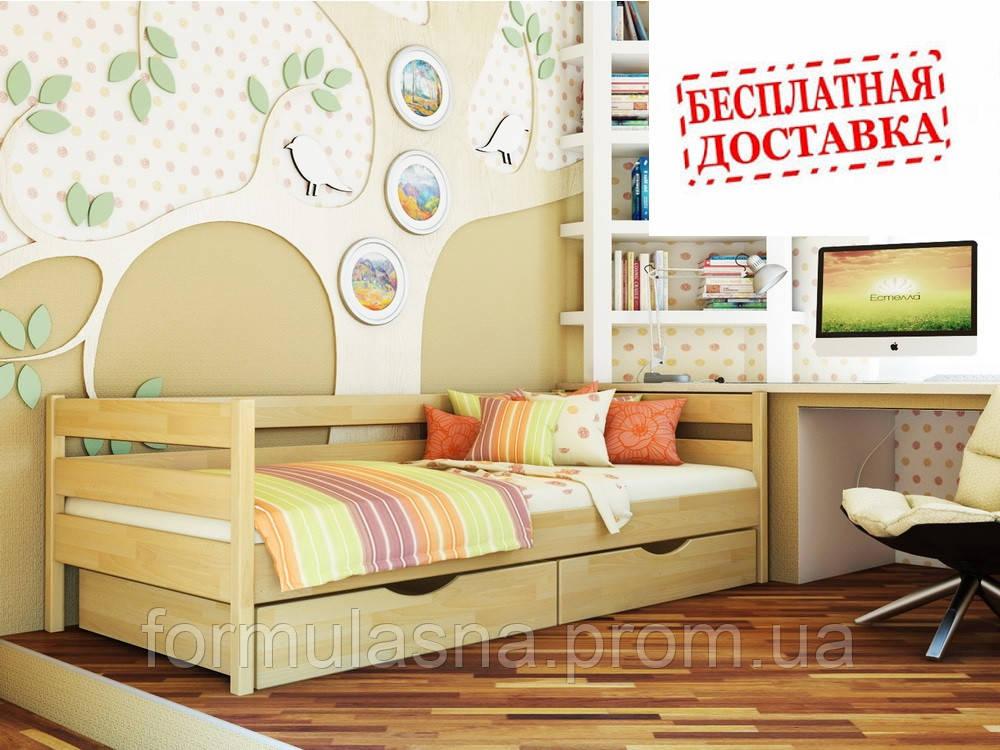 Кровать подростковая буковая Нота Эстелла