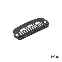 Клипсы HC-01 металлические для наращивания волос на трессах, крепления прядей