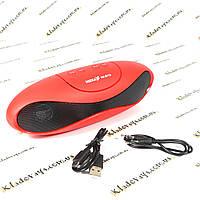 Bluetooth колонка Neeka NK-BT73 + USB + Радио (RED), фото 1