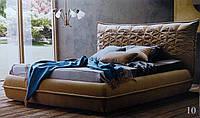 Кровать двуспальная Люкс Шанхай 2 без матраса с ящиком для белья, фото 1
