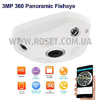 Панорамная камера видеонаблюдения - VR CAM 360 Panoramic Camera