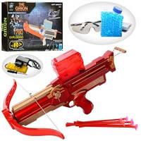 Игровой арбалет для детей LS203-A стрелы и водяные пули (44 см)