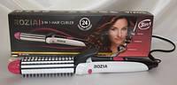 Расчёска - утюжок - гофре для волос ROZIA HR 7330, Плойка для волос, Утюжок для волос, Стайлер для волос