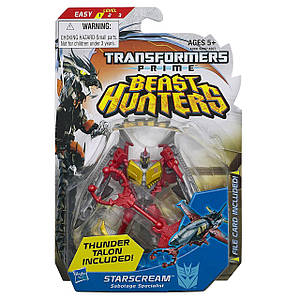 "Трансформер Старскрим ""Охотники на чудовищ""  - Starscream,  TFP, Beast Hunters, Commander, Hasbro"