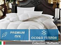 Одеяло MirSon полуторное пуховое Зимнее Raffaello 140x205 пух 100% Премиум 053