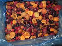 """Смесь """"Компотная"""" (абрикос, слива, арония, виноград) замороженная"""