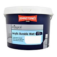 Акриловая краска для стен и потолков Johnstone's Acrylic Durable Matt, 10л
