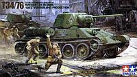 Т34/76 1943года 1/35 TAMIYA 35149