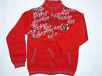 Кофта на замке, толстовка, одежда для мальчиков 110-152