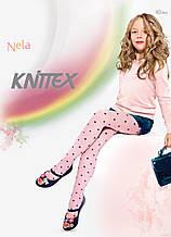 Колготи 40 den Knitex Nela 116-122 рожевий