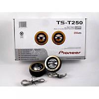 Автомобильная акустика Пищалки Pioneer TS-JS250 150 Вт, пищалки pioneer, колонки автомобильные пищалки
