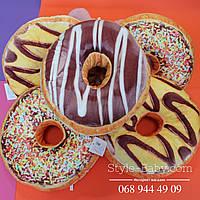 Декоративная подушка Пончик
