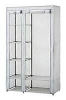 Шкаф тканевый складной на 4 полки