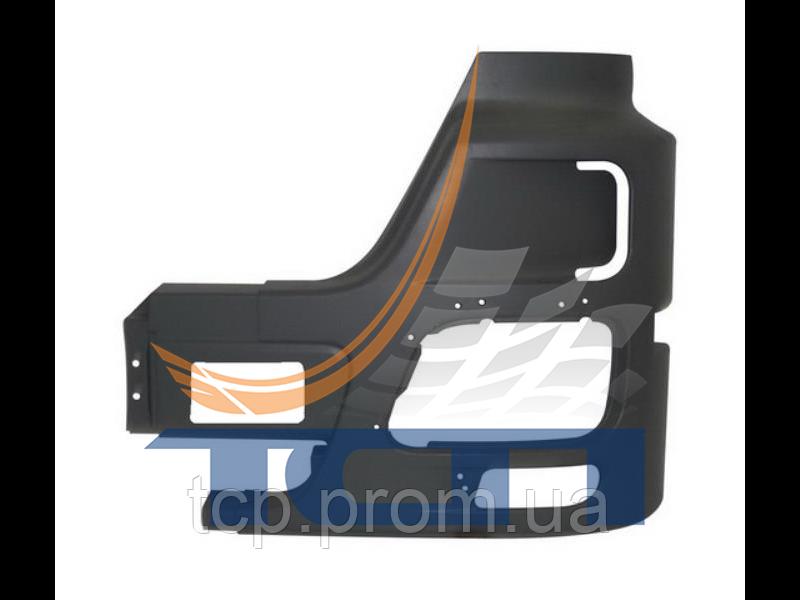 Бампер левая часть с отверстием MB ACTROS MP2 MEGA/MP3 MEGA T410016 ТСП