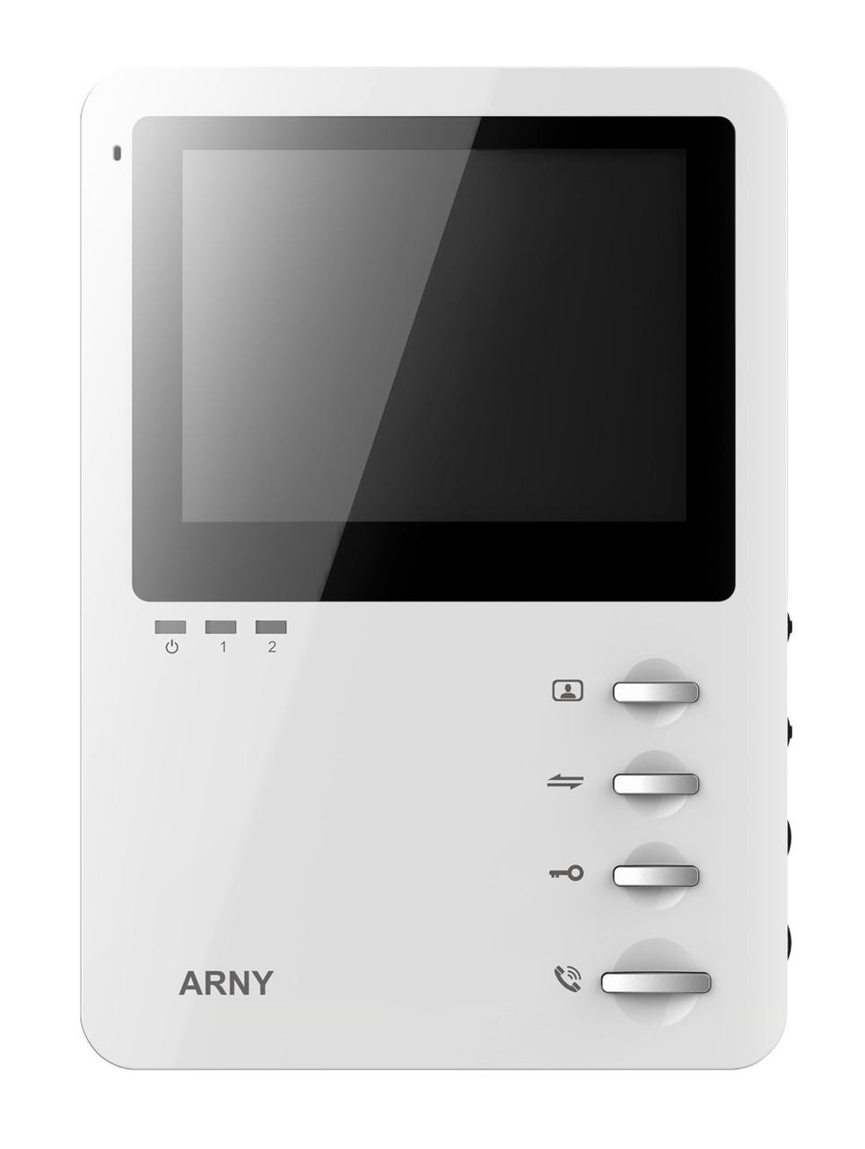 Бюджетний відеодомофон Arny AVD-410