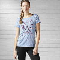 Женская футболка Рибок Essentials B47125 - 2017