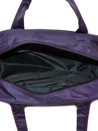 Дорожная Саквояж нейлон 22806-20 Medium violet, фото 2