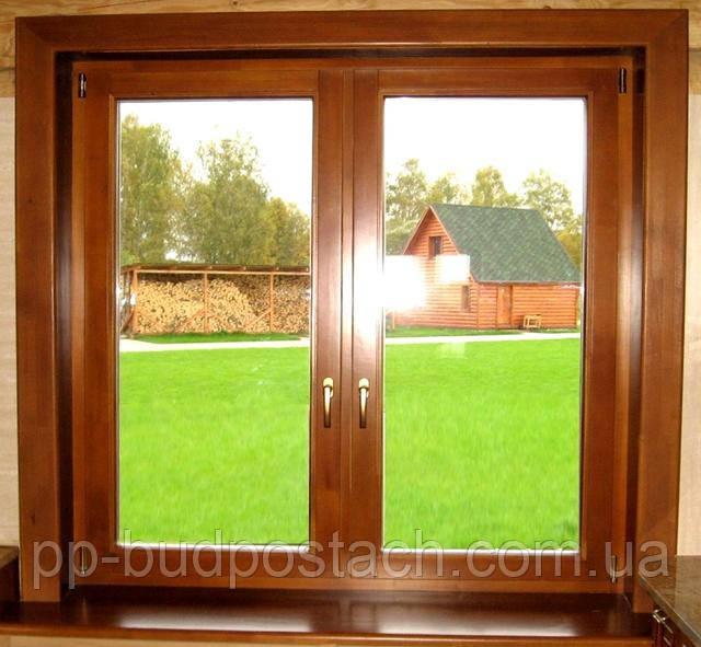 Деревянные или пластиковые окна.