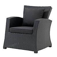Кресло LANGET сталь/петан черный M3774101