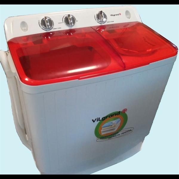 Стиральная машина 5,5кг ViLgrand V550-300TC_красная