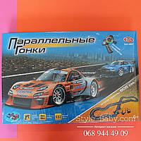 Игровой набор Автотрек Параллельные гонки 505 см