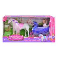 Кукла с лошадью и каретой 38386