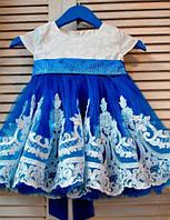 Платье праздничное, бальное для девочки от годика, фото 1