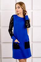 Платье  Olis Style Кэнди (44-52) электрик
