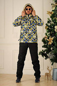 Мужской зимний костюм с комбинезоном №157-1109