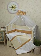 """Детское постельное белье в кроватку GreTa Lux - """"Рандеву"""" 7эл."""