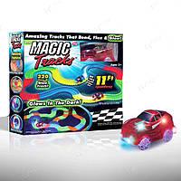 Детский автотрек Magic tracks на 220 деталей MT1001