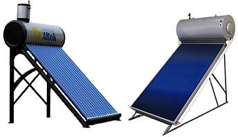 Сезонные солнечные коллекторы (термосифонные)